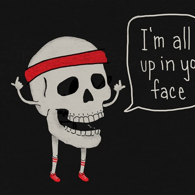 Skull in your Face