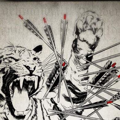 A tiger for 100 arrows