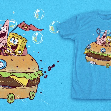 You don't need a license to drive a sandwich