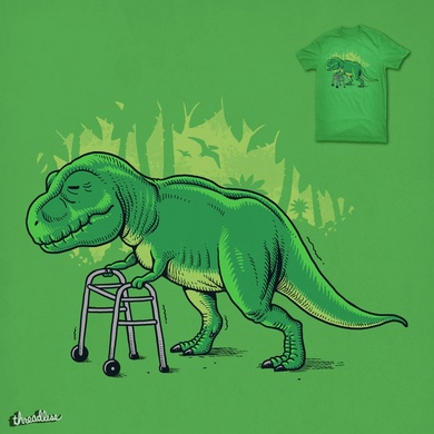 Old T-Rex Hunting Walker