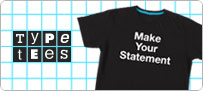 Download the Threadless Type Tees