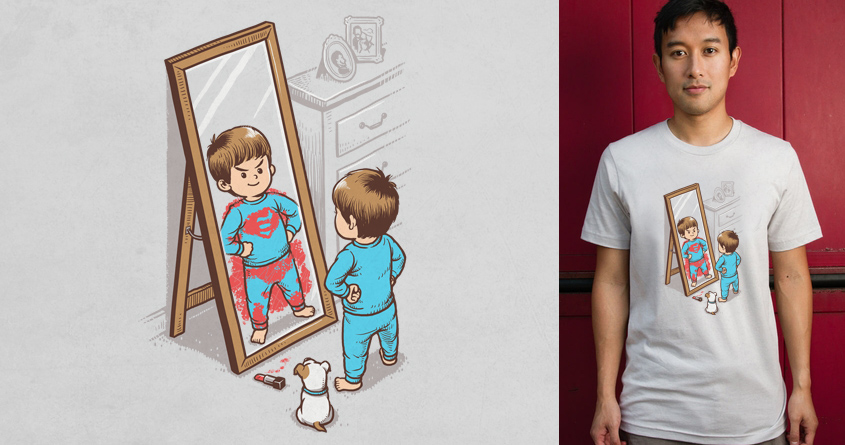 I'm A Hero by ben chen on Threadless