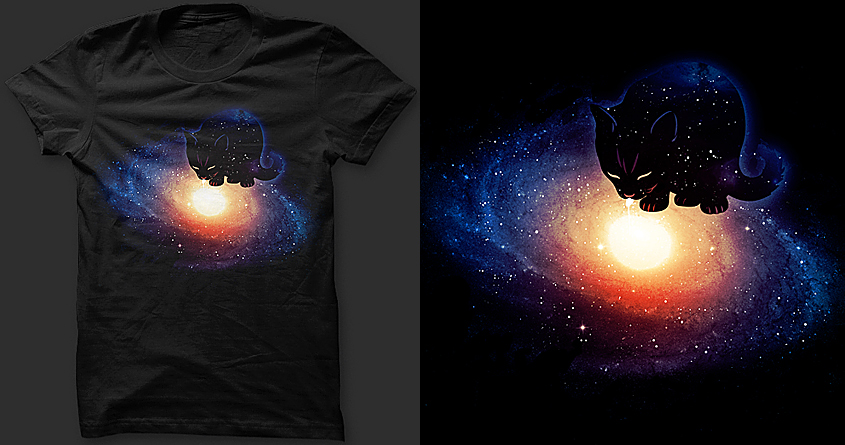 CATastrophic end of the Milky Way by nielquisaba and soloyo on Threadless