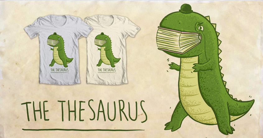 The Thesaurus, a cool t-shirt by darel on Threadless