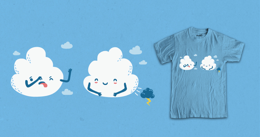 Suddenly Cloudy Sky by soloyo-collabs and Andres Colmenares on Threadless