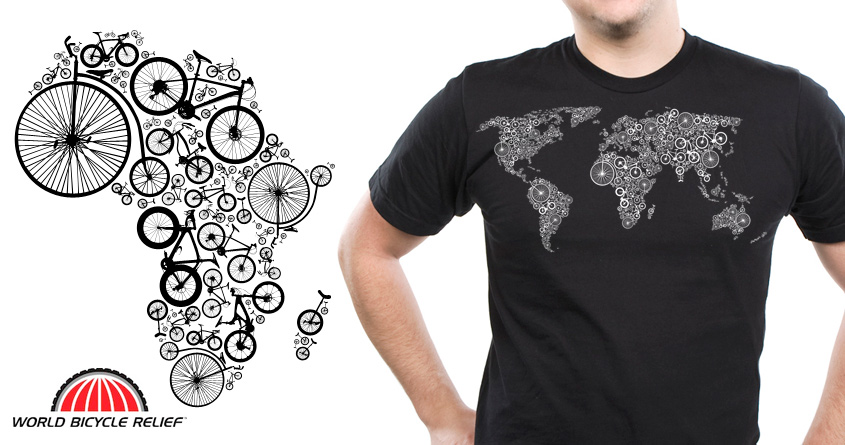 World of bike a cool t shirt by conceptart12 on threadless for Bike and cycle shoppe shirt
