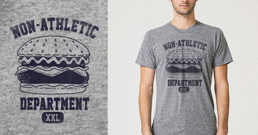 Non-Athletic Department by alexmdc on Threadless