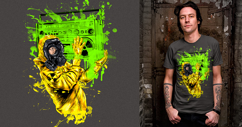 Radio Active by kooky love on Threadless