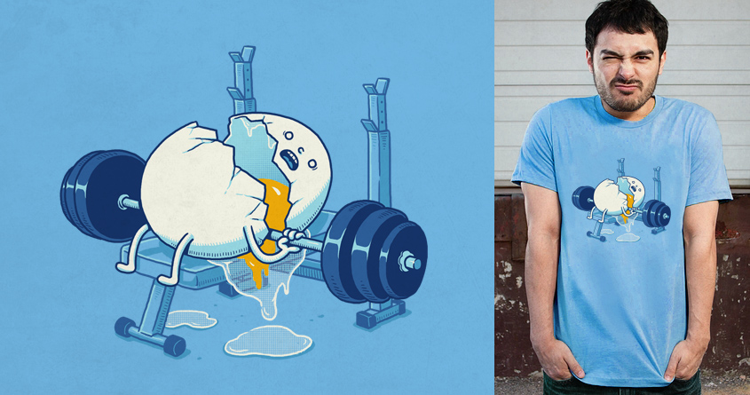 Lifting Accident by ben chen on Threadless