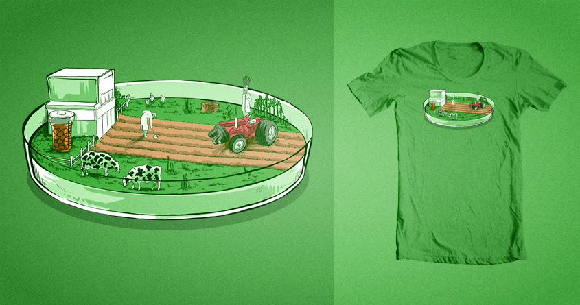 Cultivation of Bacteria by soloyo and albertoarni on Threadless