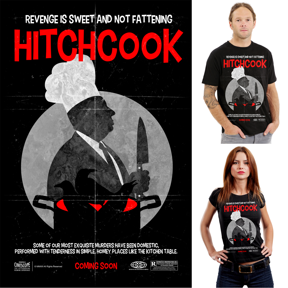Hitchcook by Joe Conde on Threadless