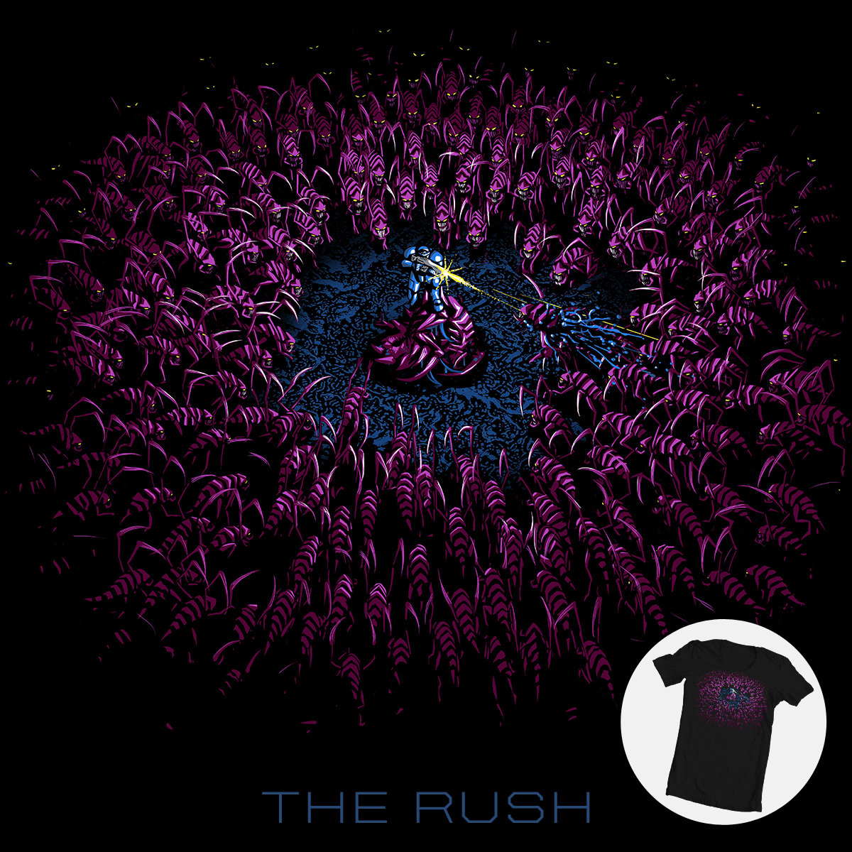 The Rush by aled on Threadless