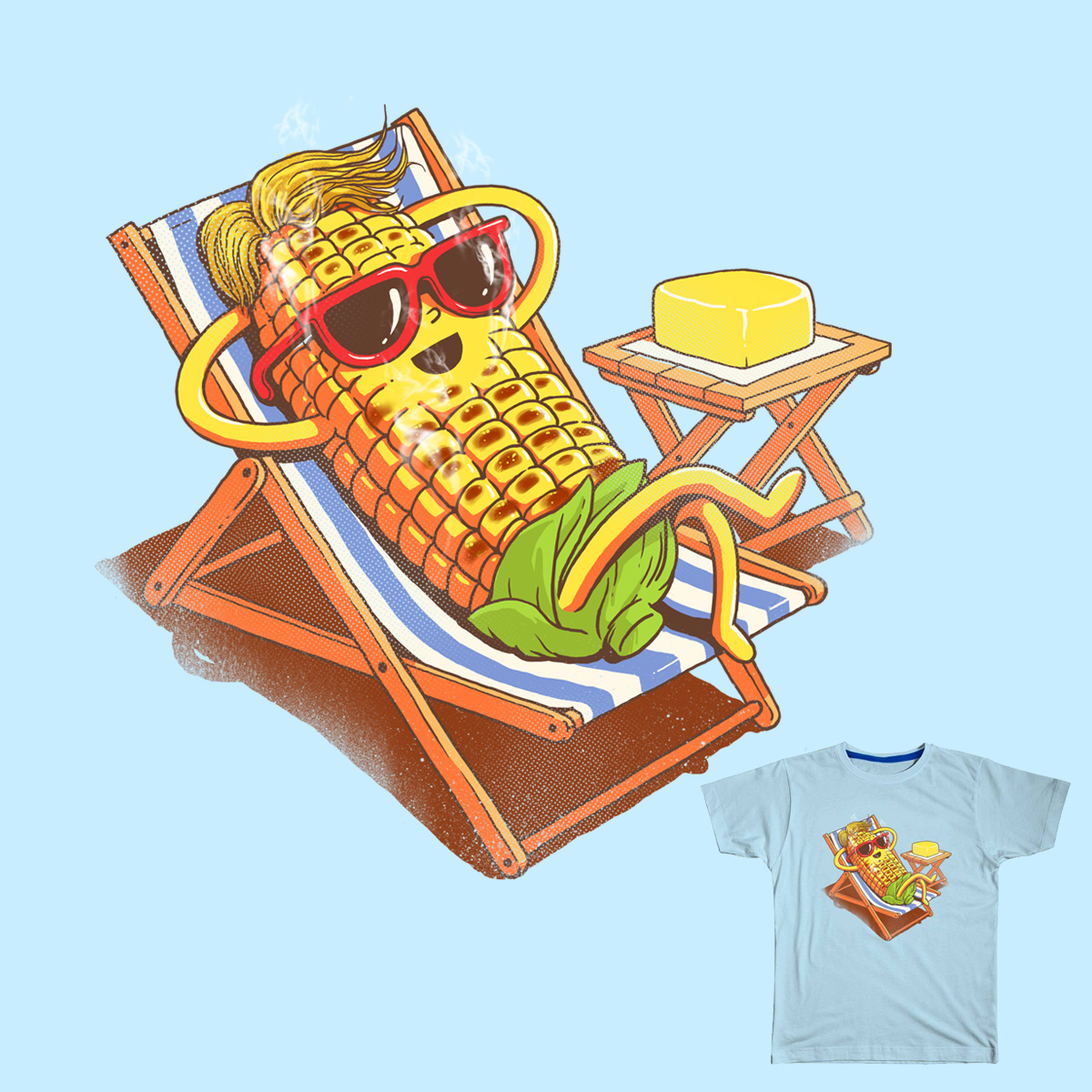 Chillin and Grillin by temyongsky and dandingeroz on Threadless