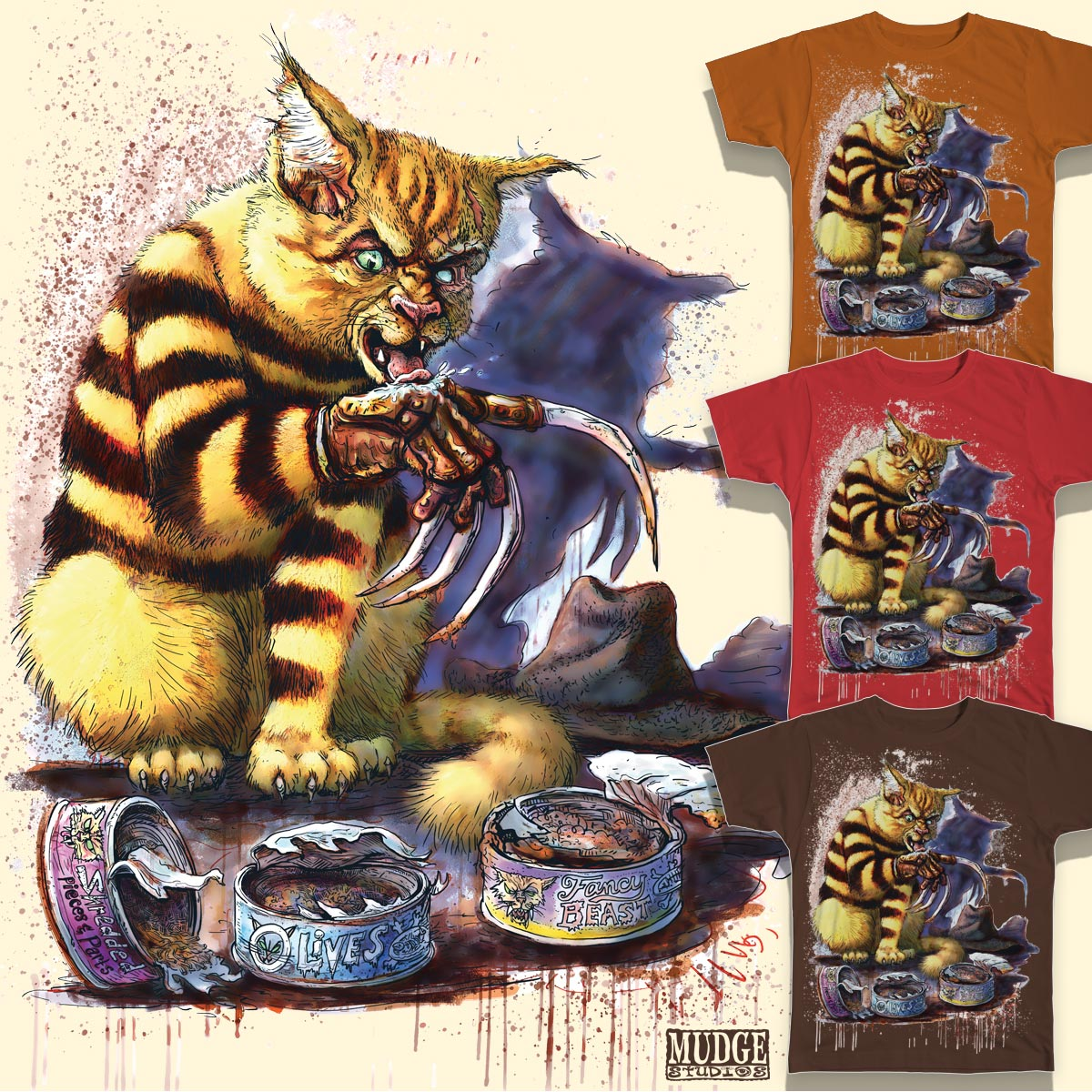 Score freddy cougar by mudgestudios on threadless - Pictures of freddy cougar ...
