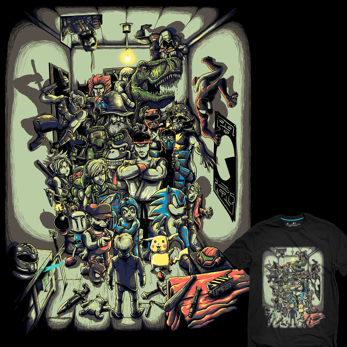 I wish them all here by bokien on Threadless
