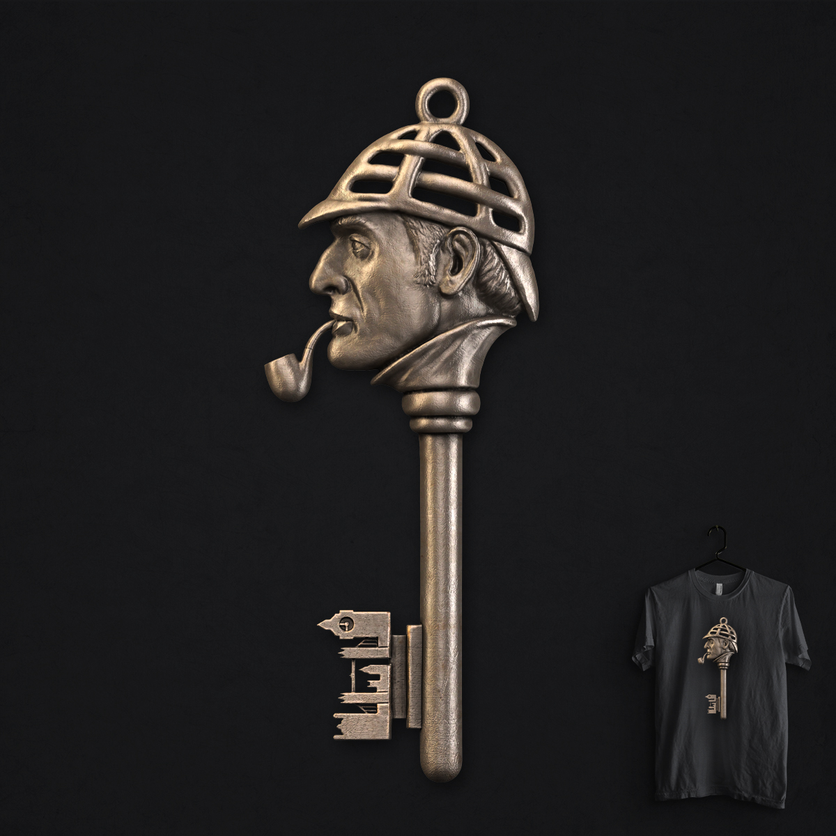 Sherlocksmith by idilek on Threadless