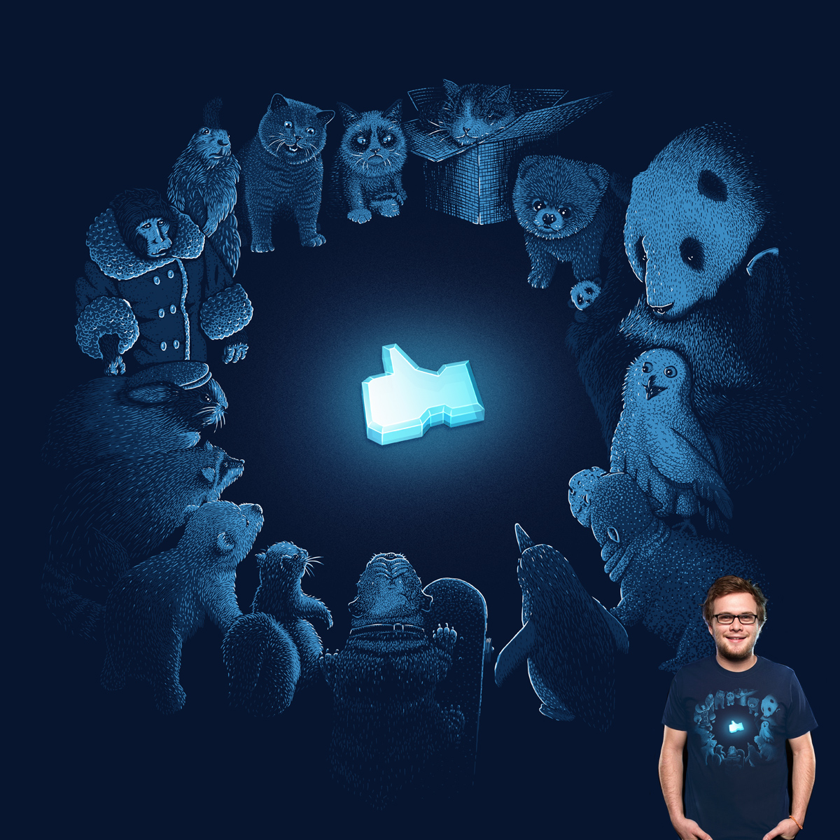 Kings of the Internets by melmike on Threadless