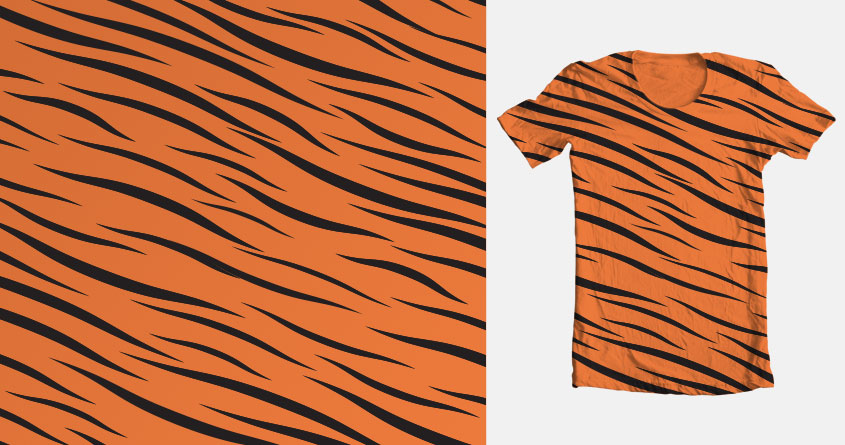 Score Tiger Stripes By Keepitcomplicated On Threadless